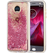 Waterfall Case for moto z2 force edition - Rose Gold