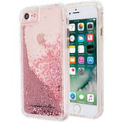 Waterfall Case for iPhone 7 - Rose Gold/Clear