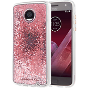 Waterfall Case for Moto Z2 Play - Rose Gold