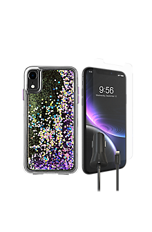 pretty nice ed9bc 2f60d Case-Mate Waterfall Case, Protection & Car Charging Bundle for iPhone XR