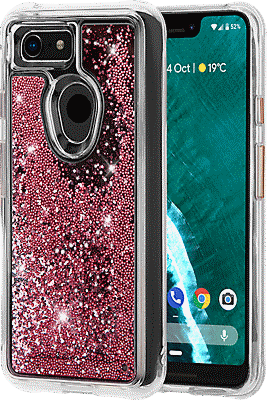 detailed look f14d0 d34d7 Waterfall Case for Pixel 3 XL - RoseGold