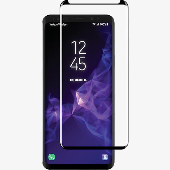 Curved Tempered Glass Screen Protector for Galaxy S9+