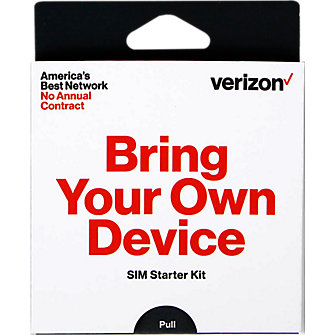 Verizon 4G SIM Activation Kit