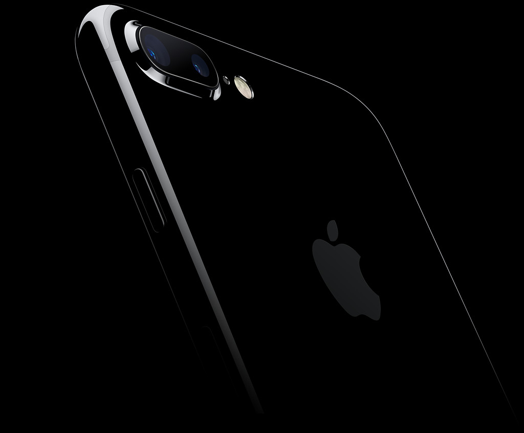 Parte trasera del iPhone 7 Plus