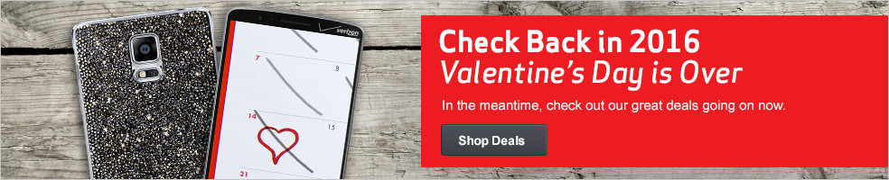 Check Back in 2016, Valentine's Day is Over