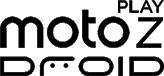 Logotipo del Moto Z Play