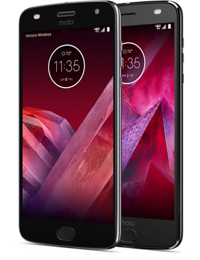 Moto Z2 Play and Force Front