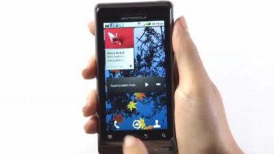 DROID 2 Global by Motorola Using Profiles