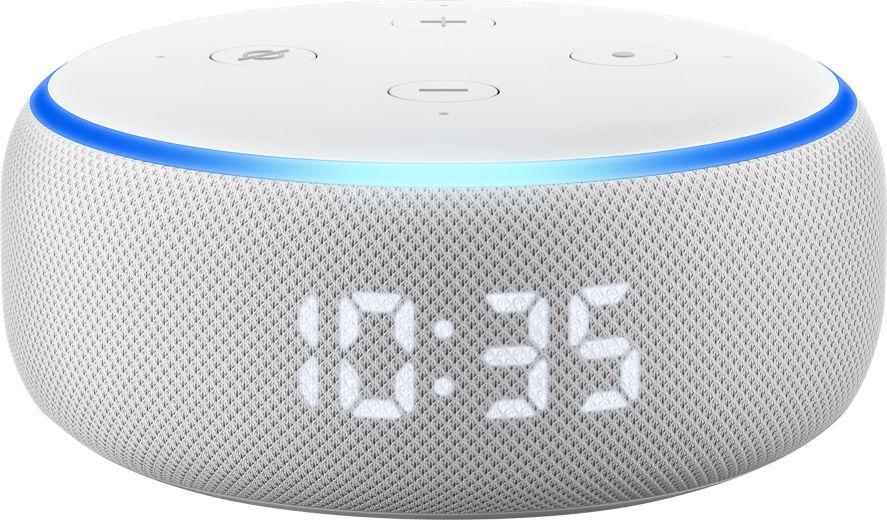 Descripción altavoz Amazon Echo Dot con reloj