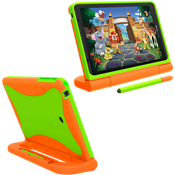 Kids Case for Ellipsis Kids Tablet - Orange/Green