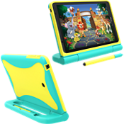 Kids Case for Ellipsis Kids Tablet - Yellow/Green
