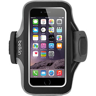 Belkin SlimFit Plus Armband for iPhone 6 - Blacktop