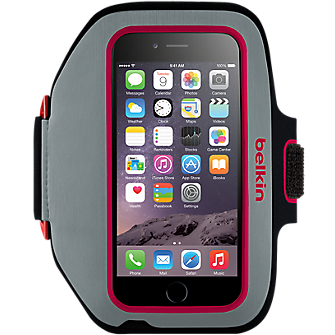 Belkin Sport-Fit Plus Armband for iPhone 6 - Sidewalk/Fuchsia