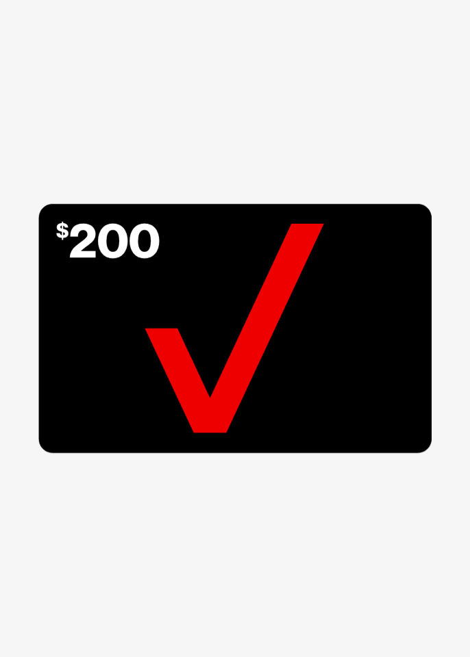 Get a $100 Verizon Gift Card, on us.