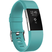 Charge 2 Heart Rate and Fitness Wristband - Teal