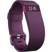 Fitbit Charge HR Heart Rate and Activity Wristband - Plum Large