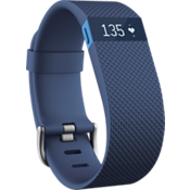Fitbit Charge HR Heart Rate and Activity Wristband - Blue Large