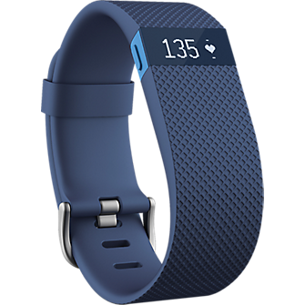 Fitbit Charge HR Heart Rate and Activity Wristband - Blue Small