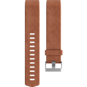 Luxe Leather Accessory Band for Charge 2 - Brown  (Large)