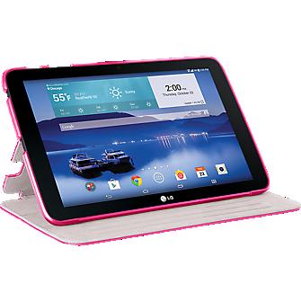Folio Case for LG G Pad 10.1 LTE - Pink