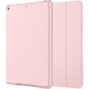 Folio Case & Tempered Glass Bundle for iPad 9.7 - Pink