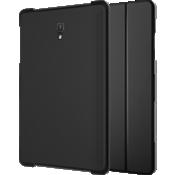 Verizon Folio Case & Tempered Glass Bundle for Galaxy Tab A (10.5 inch) - Black