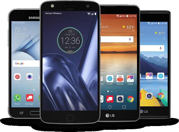 Select Free Smartphones