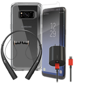 OtterBox Symmetry Power, Protection, & Headset Bundle for Galaxy S8