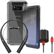 OtterBox Symmetry Power, Protection & Headset Bundle for Galaxy S8+