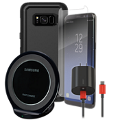 OtterBox Commuter Wireless Charging, & Protection Bundle for Galaxy S8 Plus