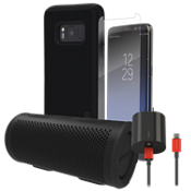 Incipio DualPro Power, Protection, & Stereo Bundle for Galaxy S8+