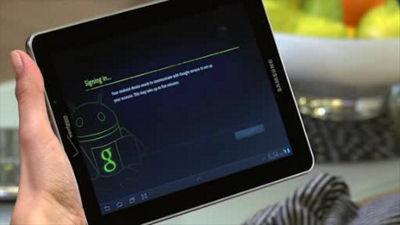 Galaxy™ Tab 7.7 Video Chat with Google Talk™