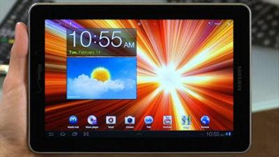 Galaxy™ Tab 7.7 Social Hub