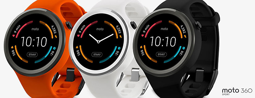The Moto 360 Sport has the Features that Make Today's Sportwatches so Newsworthy
