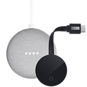 Google Home Mini & Chromecast Ultra Bundle