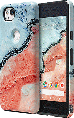 check out e5af5 f628e Google Earth Live Case for Pixel 2