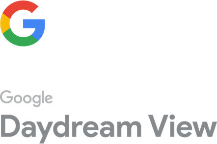Google G logo with included text - Google Daydream View