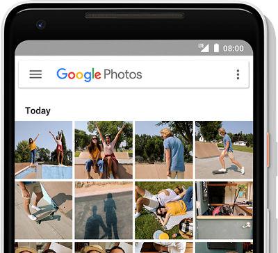 Resultado de imagen para google pixel 2 never delete a photo