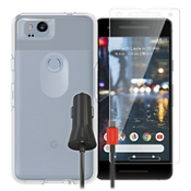 OtterBox Symmetry Clear Case Bundle for Pixel 2