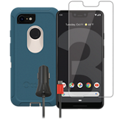 OtterBox Defender Case, Protection and Charging Bundle for Google Pixel 3