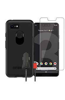official photos 74e08 2196a OtterBox Symmetry Case, Protection and Charging Bundle for Google Pixel 3