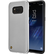 Granite Chain Veil Case for Galaxy S8 - Silver