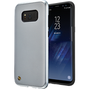 Chain Veil Case for Galaxy S8+ - Silver