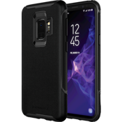 Genuine Leather Case for Galaxy S9 - Black