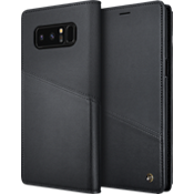 Homme Flip Case for Galaxy Note8 - Black