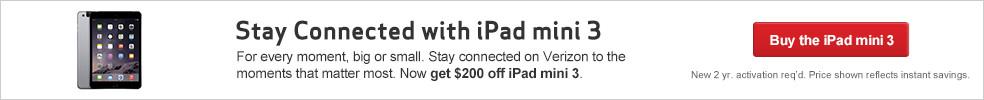 $200 Off iPad mini 3