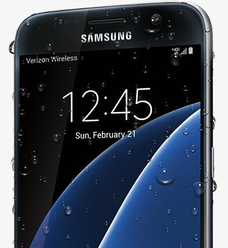 Water-resistant smartphone