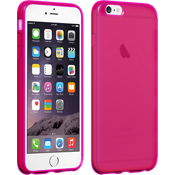 High Gloss Silicone Case for iPhone 6 Plus/6s Plus - Pink