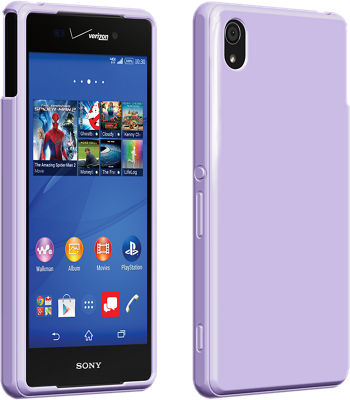 Verizon High Gloss Silicone Cover for Sony Xperia Z3v