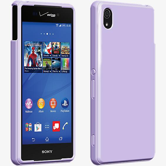 High Gloss Silicone Cover for Sony Xperia Z3v